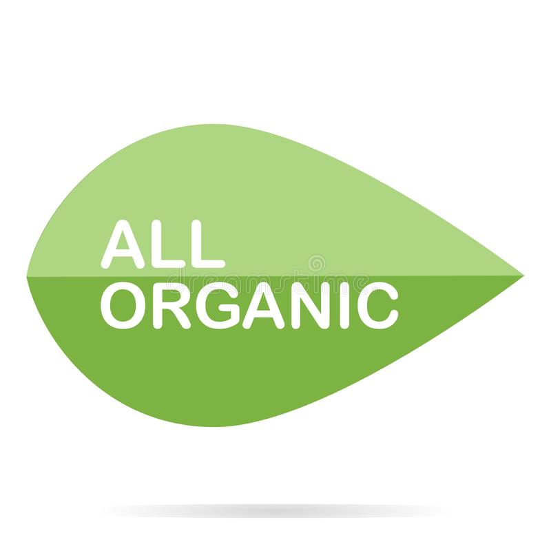 Alimento biol?gico, ?cones do produto fresco e natural da explora??o agr?cola e cole??o dos elementos para o mercado do alimento, ilustração royalty free
