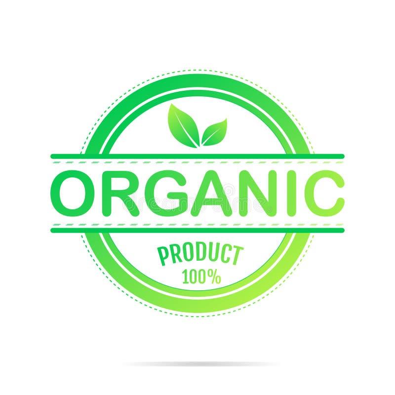 Alimento biol?gico, ?cones do produto fresco e natural da explora??o agr?cola e cole??o dos elementos para o mercado do alimento, ilustração do vetor