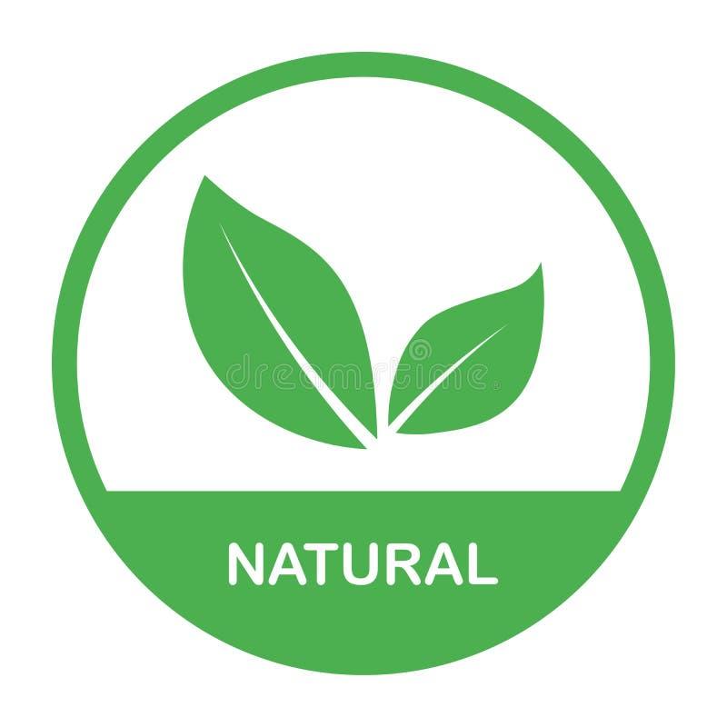 Alimento biol?gico, etiqueta e crach? do produto fresco e natural da explora??o agr?cola para o mercado do alimento, com?rcio ele ilustração stock