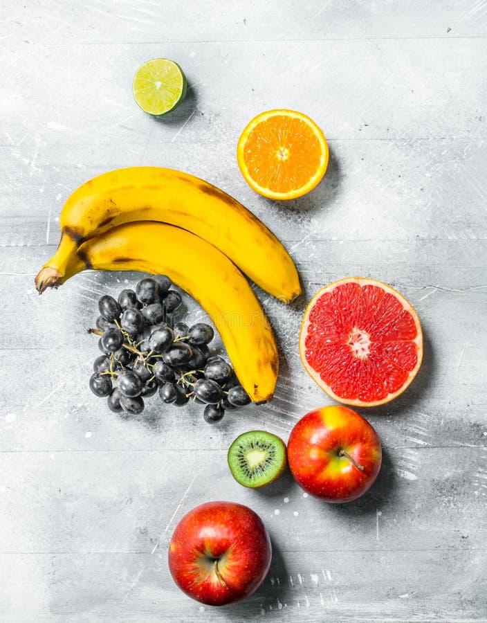 Alimento biologico Frutta fresca immagini stock libere da diritti