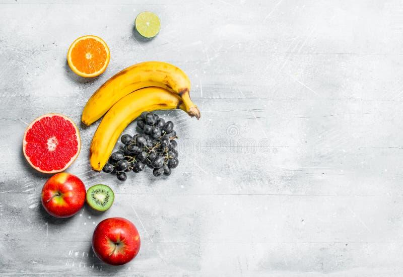 Alimento biologico Frutta fresca fotografia stock libera da diritti