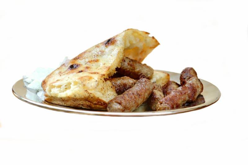 Alimento bosniaco tradizionale fotografie stock libere da diritti