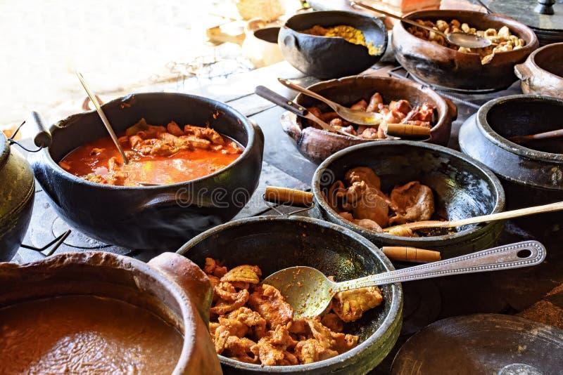 Alimento brasileiro tradicional fora do rgion fora de Minas Gerais imagem de stock royalty free