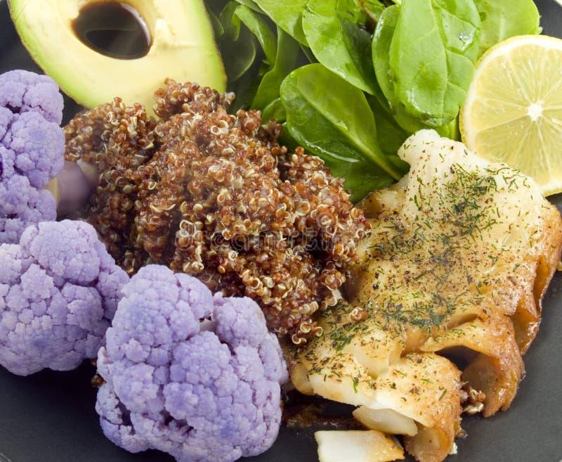 Download Alimento caldo sano fotografia stock. Immagine di cavolfiore - 7307678