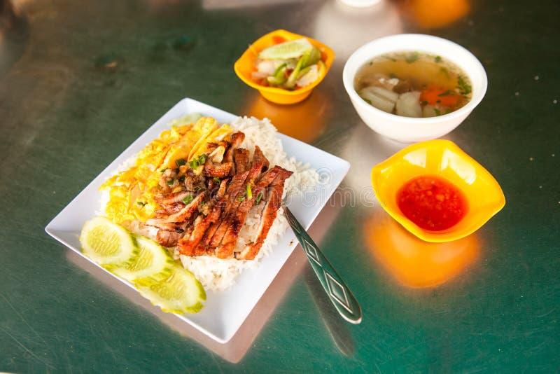 Alimento cambogiano di Khmer fotografie stock