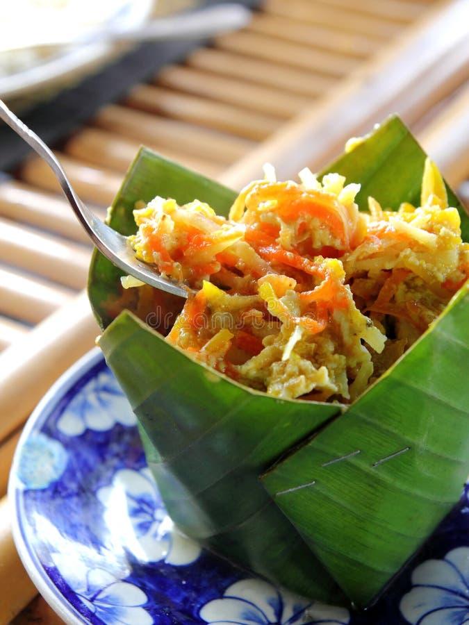 Alimento camboyano del Khmer imagen de archivo libre de regalías