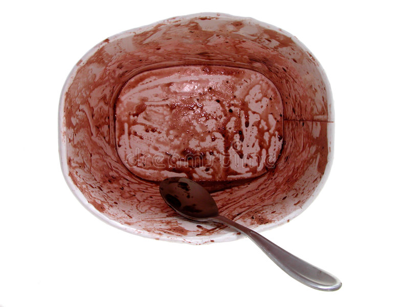 Alimento: Cartón vacío del helado imágenes de archivo libres de regalías