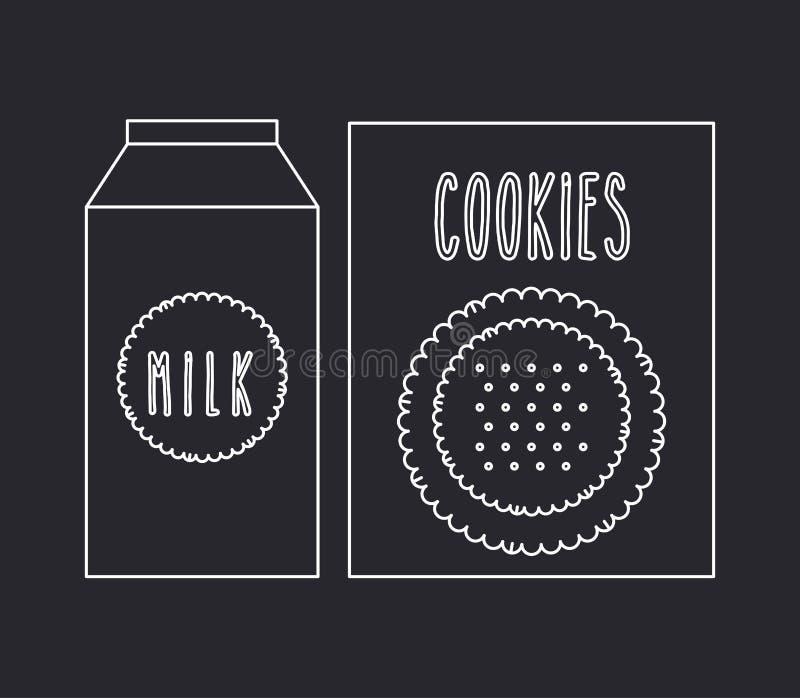 Alimento caseiro ilustração stock