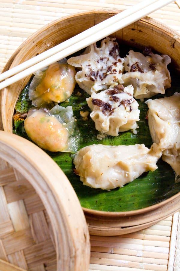 Alimento chinês, Dim Sum fotos de stock royalty free