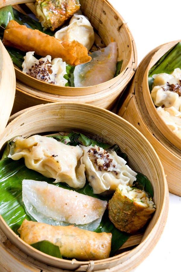 Alimento chinês, Dim Sum fotografia de stock