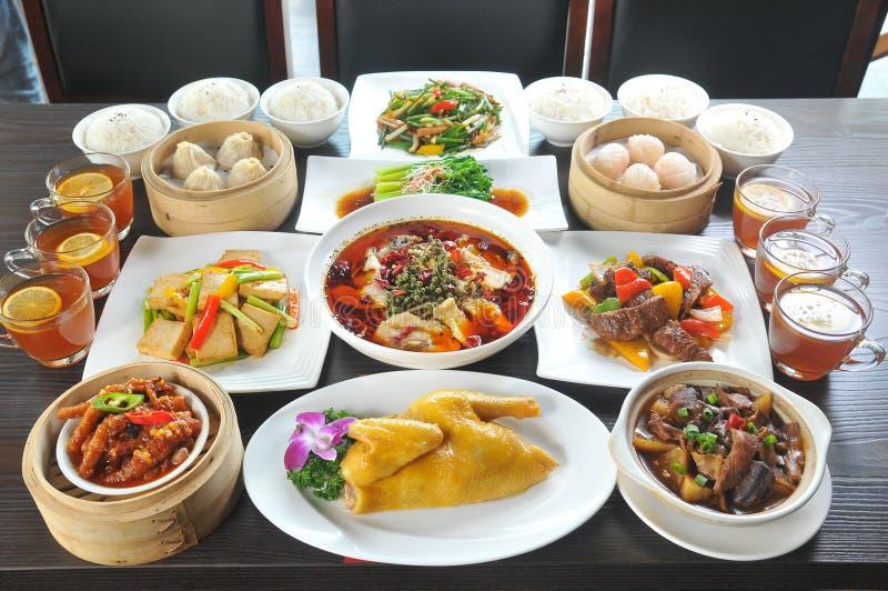 Alimento cinese fotografie stock
