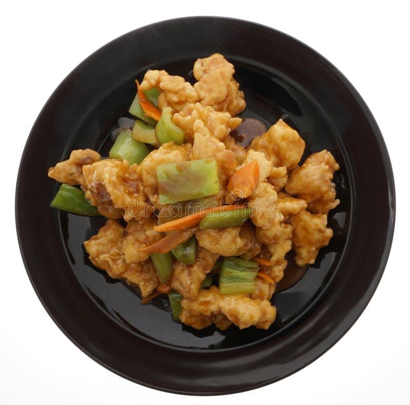 Alimento cinese Carpa dei pesci freschi immagini stock