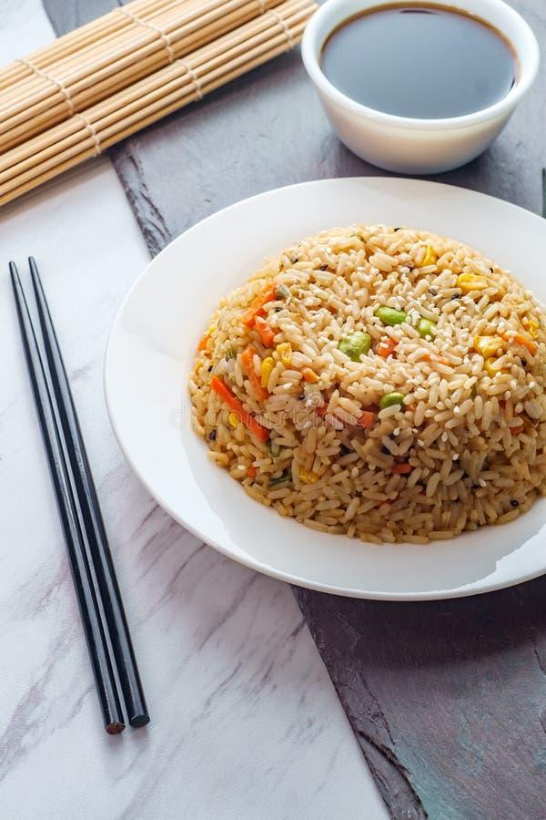Alimento cinese Fried Rice fotografia stock libera da diritti