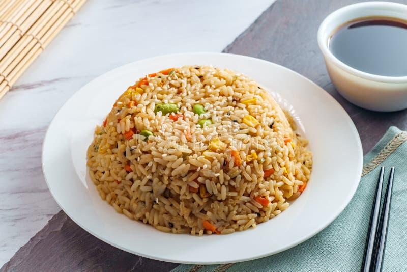 Alimento cinese Fried Rice immagine stock libera da diritti
