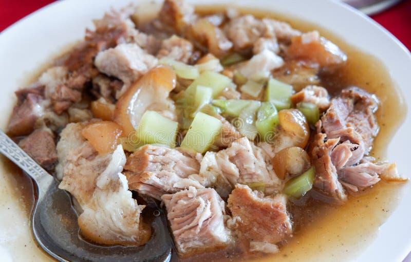 Alimento cinese, porco brasato fotografia stock libera da diritti