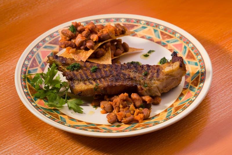 Alimento clásico mexicano fotografía de archivo