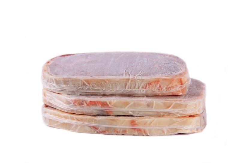 Alimento congelado fotos de archivo