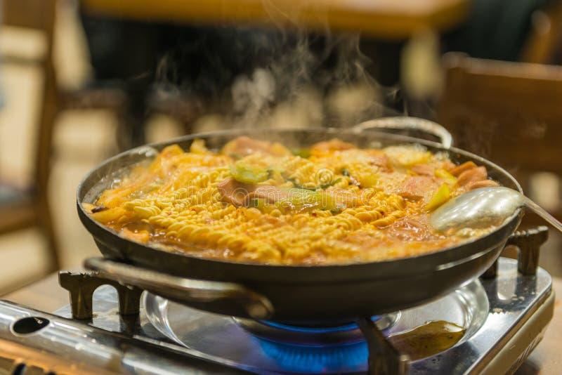 Alimento coreano immagini stock