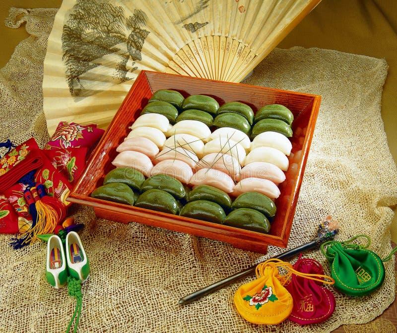 Alimento coreano foto de archivo