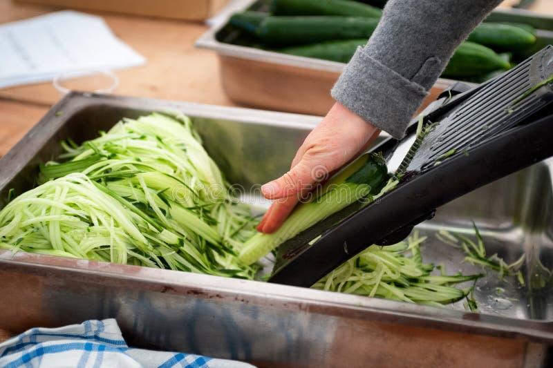 Preparação dos alimentos crua imagens de stock royalty free