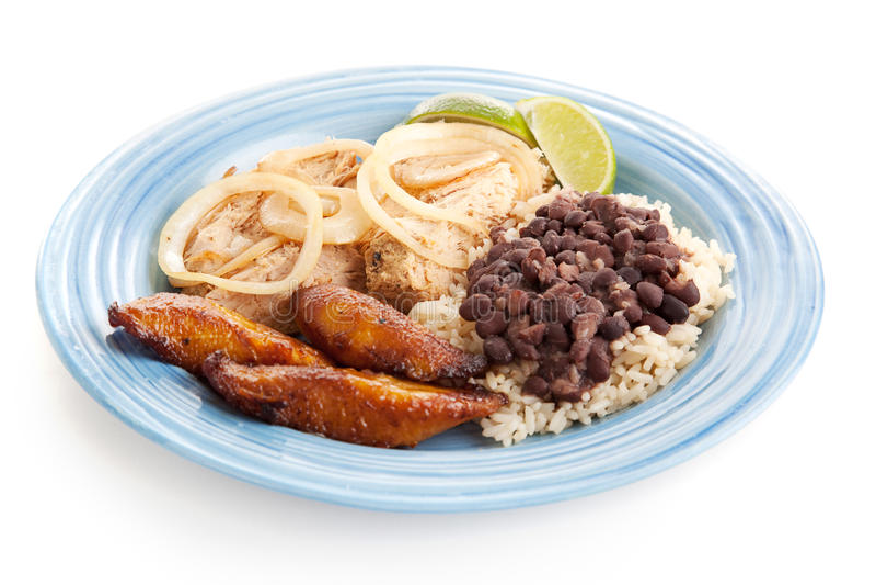Alimento cubano imagem de stock royalty free