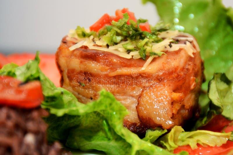 Alimento cubano com cores de Brillants imagens de stock