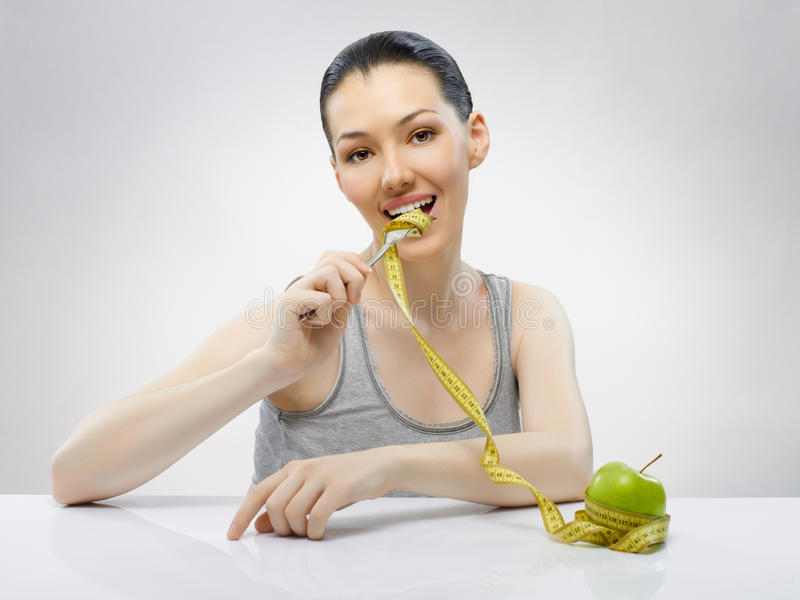 Alimento da dieta fotografia de stock royalty free