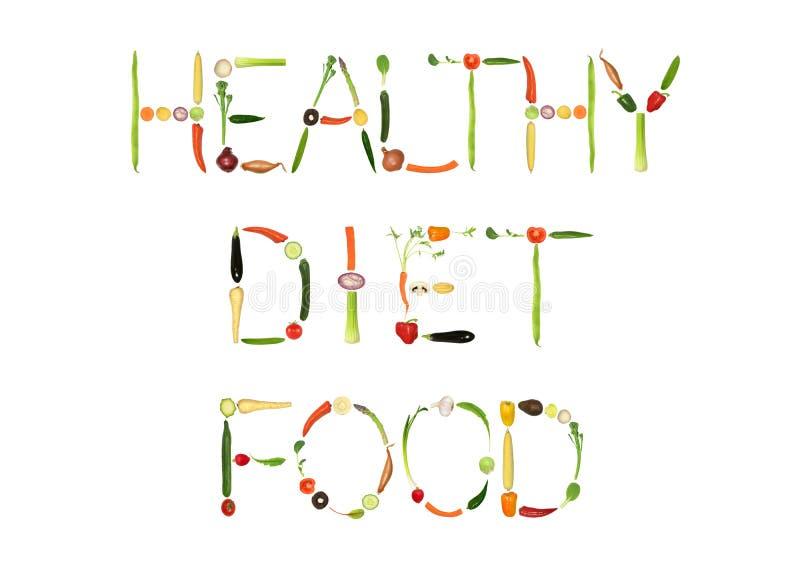 Alimento da dieta saudável ilustração do vetor