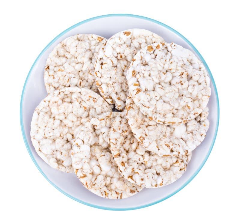 Alimento da dieta saudável biscoitos do Inteiro-trigo fotografia de stock royalty free