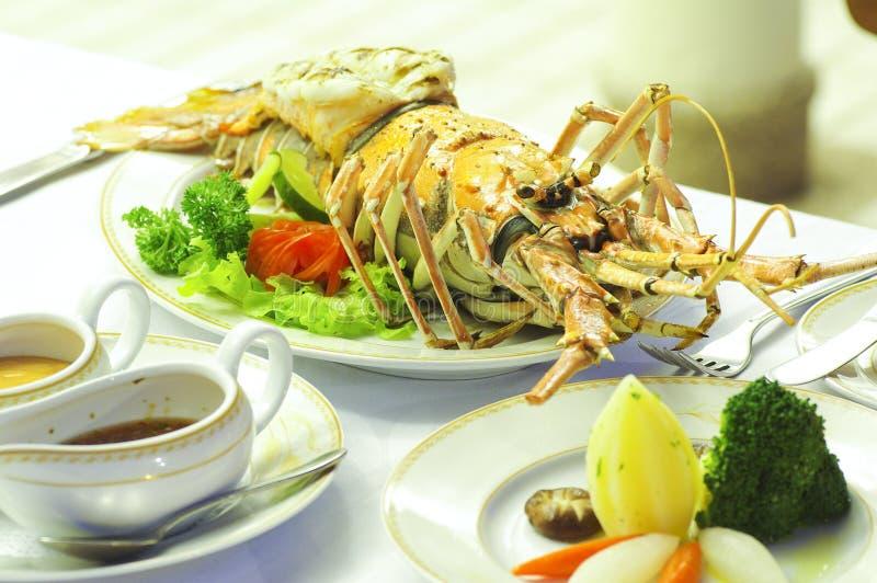 Alimento da lagosta fotos de stock