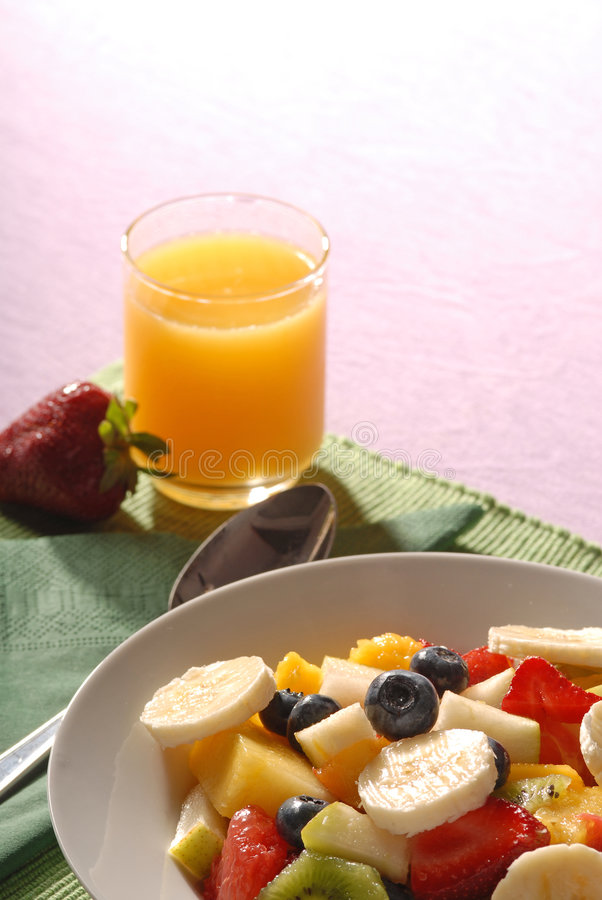 Alimento da manhã foto de stock