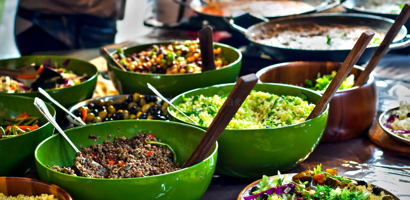 Alimento da rua: cozinha africana fotografia de stock royalty free
