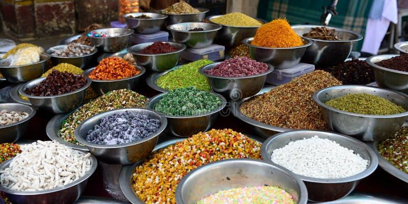 Alimento da rua da Índia fotografia de stock royalty free