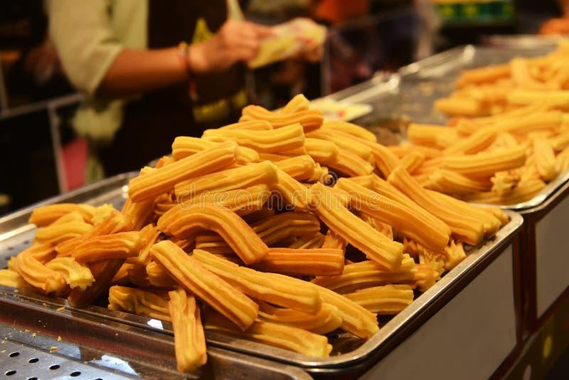 Alimento da rua de China fotografia de stock royalty free