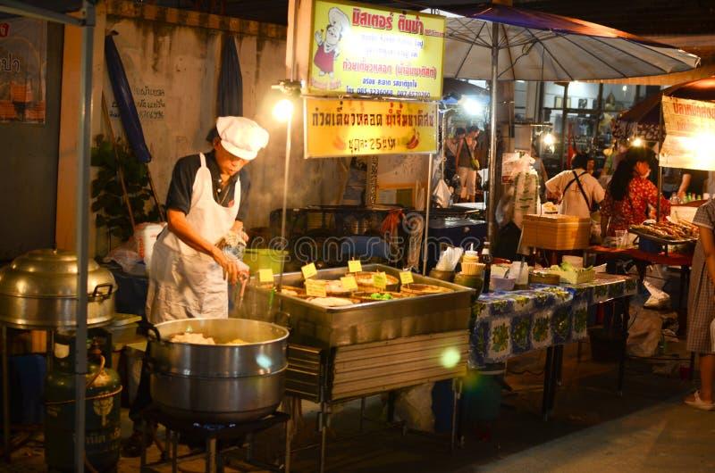Alimento da rua em Banguecoque foto de stock