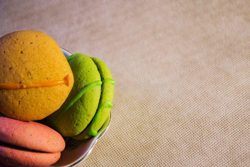 Alimento das cookies, o maravilhoso e o útil imagem de stock