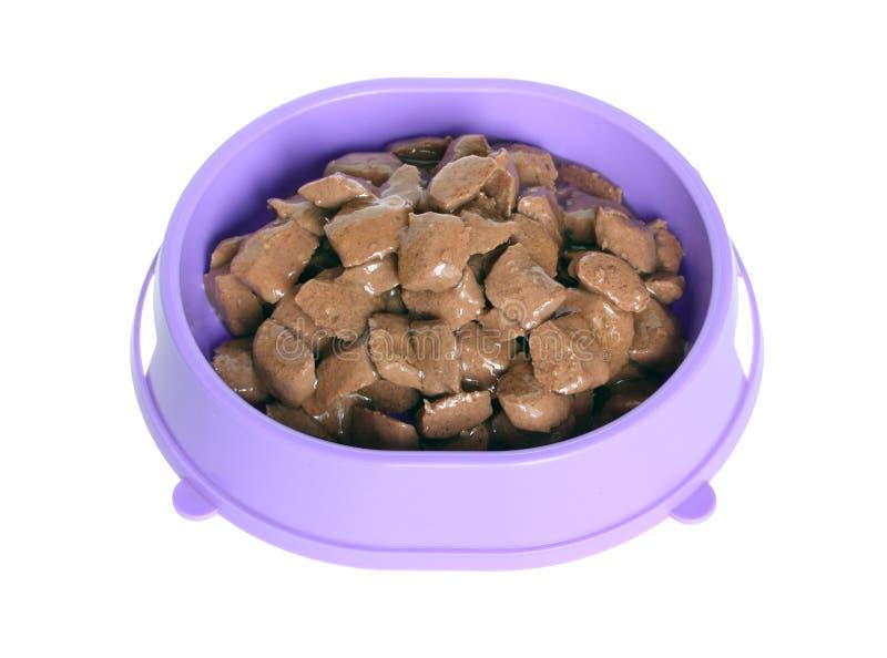 Alimento de animal de estimação. fotografia de stock royalty free