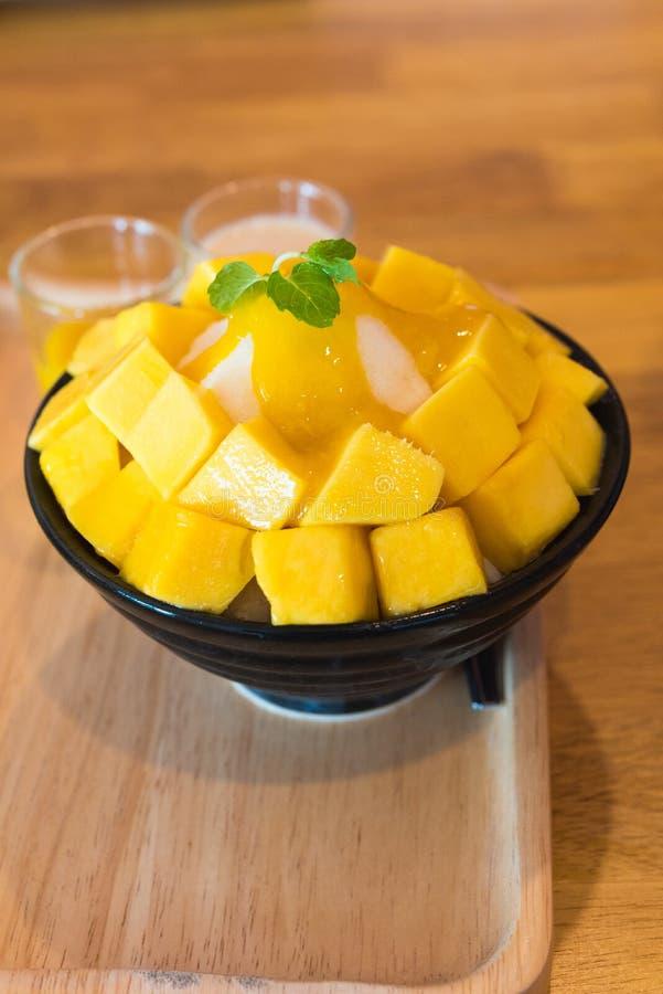 Alimento de Bingsu Coreia fotografia de stock royalty free
