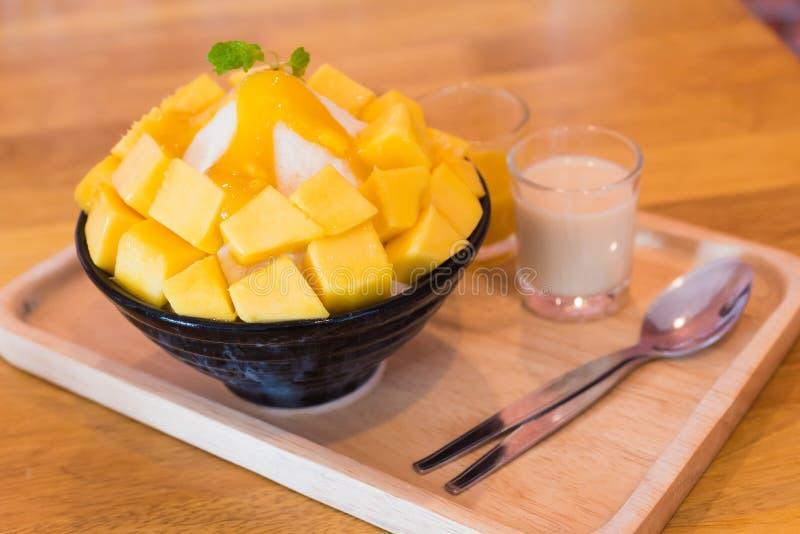 Alimento de Bingsu Coreia fotos de stock royalty free