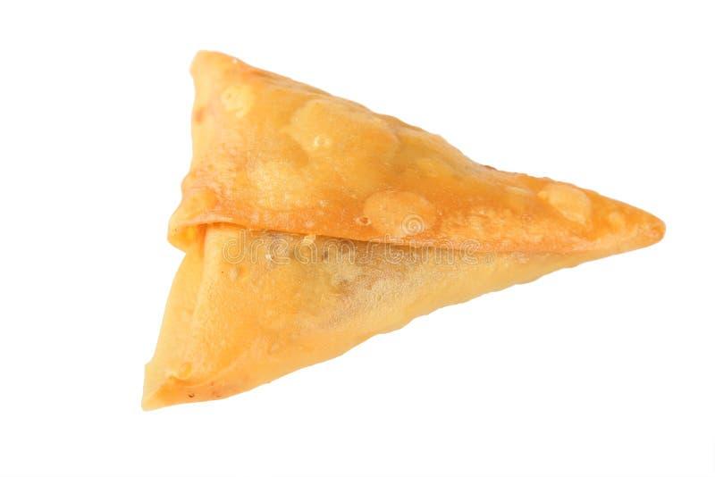 Alimento de bocado de Samoosa imagen de archivo libre de regalías