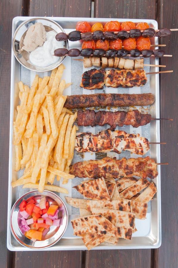 Alimento de Chipre imagens de stock