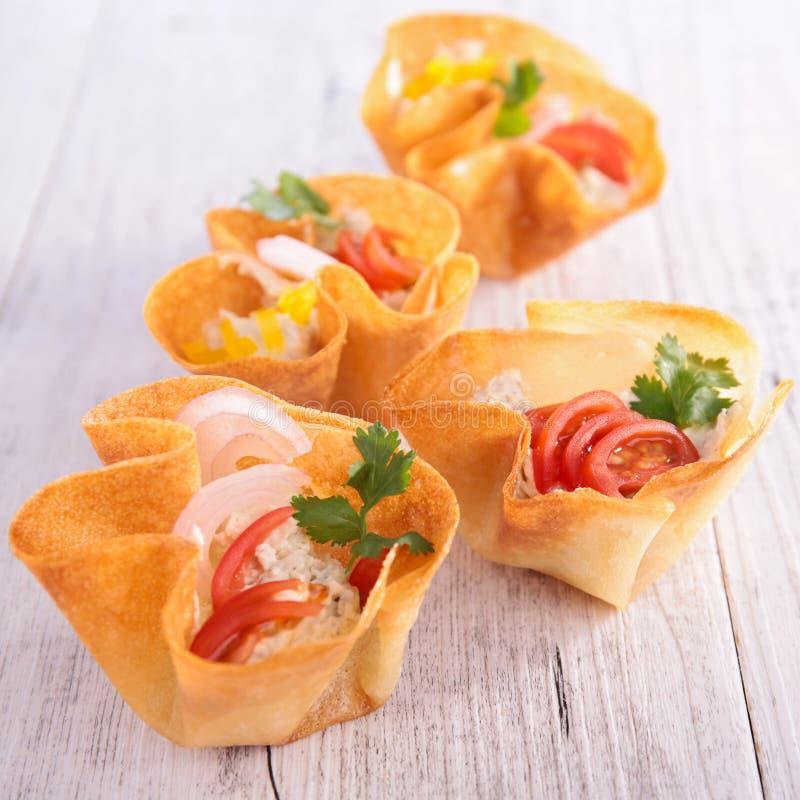 Alimento de dedo, alimento do bufete foto de stock royalty free