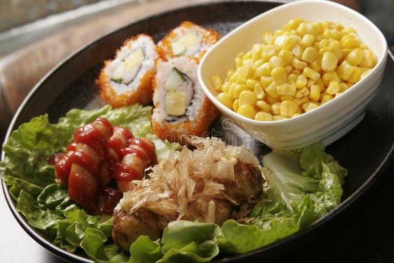 Alimento de Japaness foto de stock
