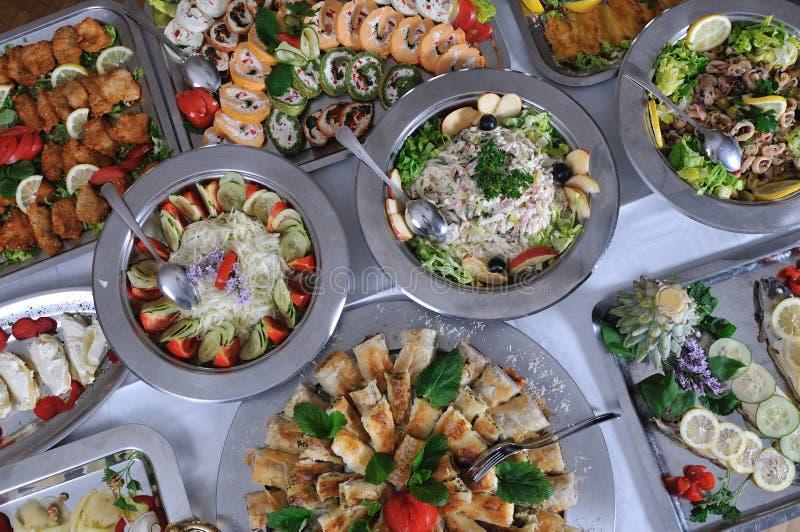 Alimento de la comida fría imagen de archivo libre de regalías