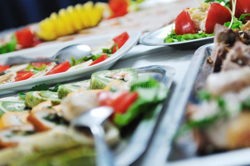 Alimento de la comida fría fotografía de archivo