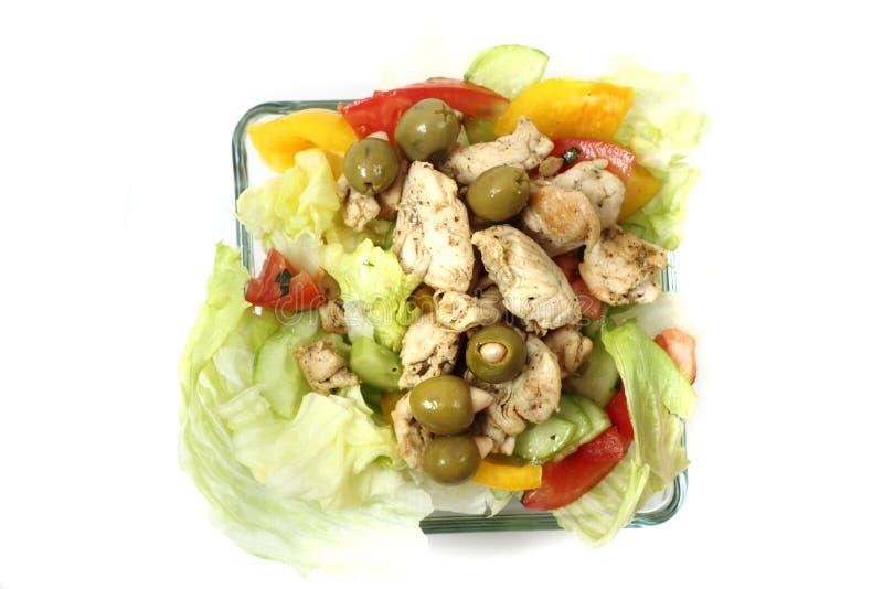 Alimento de la dieta del pollo imagenes de archivo