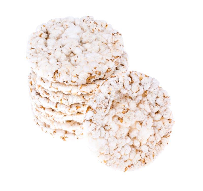 Alimento de la dieta sana Galletas del trigo integral imagen de archivo libre de regalías