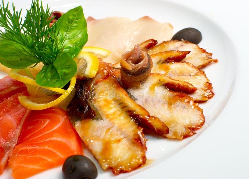 Alimento de peixes imagem de stock royalty free