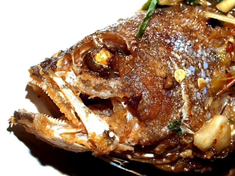 Alimento de peixes tailandês imagem de stock royalty free