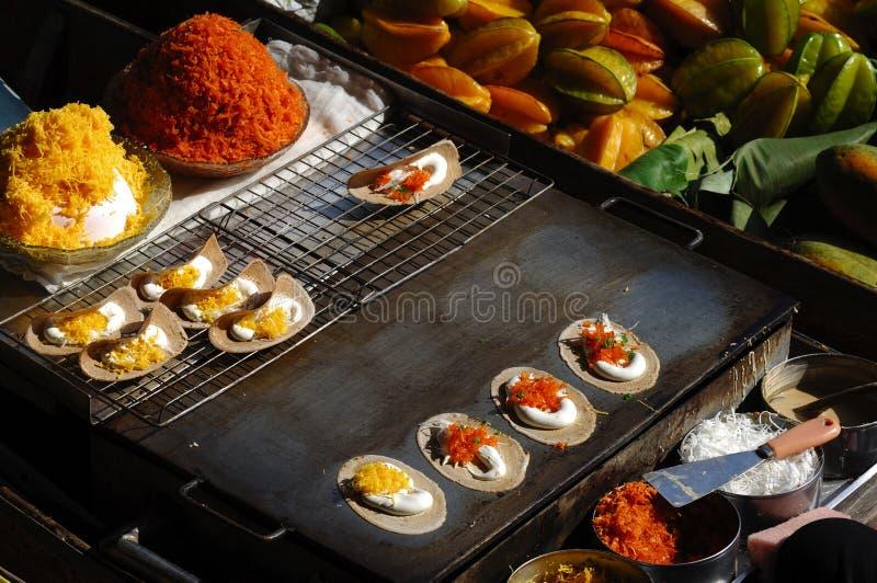 Alimento de Tailandia imagen de archivo